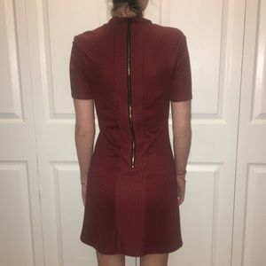 c5bff63585563 Topshop Dresses | Red Mod Style Dress | Poshmark